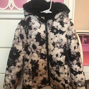 Justice girls jacket reversible